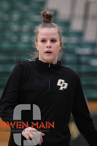 Cal Poly women's basketball hosted Illinois in the opening game of the ShareSLO Holiday Beach Classic in San Luis Obispo, CA. Photo by Owen Main. 11/23/18
