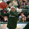 Cal Poly women's basketball hosted UC Davis at Mott Athletics Center.  Photo by Owen Main 1/25/20