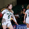 Cal Poly women's basketball hosted UC Irvine at Mott Athletics Center.  Photo by Owen Main 1/18/20
