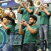 My neighbor dominated the trumpet solo tonight during the anthem. #CalPolyNow #CalPolyBand #807 #BandsofTheBigWest