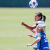 Cal Poly Women's Soccer played Boise State at Alex G. Spanos Stadium. 8/26/1811:09:11 AM <br /> <br /> Photo by Owen Main