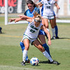Cal Poly Women's Soccer played Boise State at Alex G. Spanos Stadium. 8/26/1811:23:13 AM <br /> <br /> Photo by Owen Main