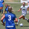 Cal Poly Women's Soccer played Boise State at Alex G. Spanos Stadium. 8/26/1812:13:09 PM <br /> <br /> Photo by Owen Main