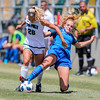 Cal Poly Women's Soccer played Boise State at Alex G. Spanos Stadium. 8/26/1812:18:59 PM <br /> <br /> Photo by Owen Main