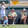 Cal Poly Women's Soccer played Boise State at Alex G. Spanos Stadium. 8/26/1810:55:09 AM <br /> <br /> Photo by Owen Main