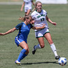 Cal Poly Women's Soccer played Boise State at Alex G. Spanos Stadium. 8/26/1812:13:11 PM <br /> <br /> Photo by Owen Main