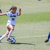 Cal Poly Women's Soccer played Boise State at Alex G. Spanos Stadium. 8/26/1811:17:39 AM <br /> <br /> Photo by Owen Main