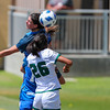 Cal Poly Women's Soccer played Boise State at Alex G. Spanos Stadium. 8/26/1811:26:27 AM <br /> <br /> Photo by Owen Main