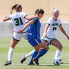 Cal Poly Women's Soccer played Boise State at Alex G. Spanos Stadium. 8/26/1811:06:40 AM <br /> <br /> Photo by Owen Main