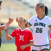 Cal Poly Women's Soccer played Boise State at Alex G. Spanos Stadium. 8/26/1810:59:32 AM <br /> <br /> Photo by Owen Main