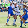 Cal Poly Women's Soccer played Boise State at Alex G. Spanos Stadium. 8/26/1812:46:59 PM <br /> <br /> Photo by Owen Main