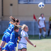 Cal Poly Women's Soccer played Boise State at Alex G. Spanos Stadium. 8/26/1812:30:31 PM <br /> <br /> Photo by Owen Main