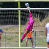 Cal Poly Women's Soccer played Boise State at Alex G. Spanos Stadium. 8/26/1812:47:24 PM <br /> <br /> Photo by Owen Main