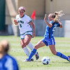 Cal Poly Women's Soccer played Boise State at Alex G. Spanos Stadium. 8/26/1811:06:15 AM <br /> <br /> Photo by Owen Main