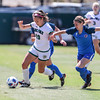 Cal Poly Women's Soccer played Boise State at Alex G. Spanos Stadium. 8/26/1811:04:09 AM <br /> <br /> Photo by Owen Main