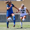 Cal Poly Women's Soccer played Boise State at Alex G. Spanos Stadium. 8/26/1812:29:31 PM <br /> <br /> Photo by Owen Main