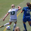 Cal Poly Women's Soccer played Boise State at Alex G. Spanos Stadium. 8/26/1811:30:12 AM <br /> <br /> Photo by Owen Main