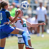 Cal Poly Women's Soccer played Boise State at Alex G. Spanos Stadium. 8/26/1811:48:04 AM <br /> <br /> Photo by Owen Main
