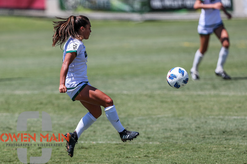 Cal Poly Women's Soccer played Boise State at Alex G. Spanos Stadium. 8/26/1812:35:03 PM <br /> <br /> Photo by Owen Main