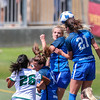 Cal Poly Women's Soccer played Boise State at Alex G. Spanos Stadium. 8/26/1811:16:02 AM <br /> <br /> Photo by Owen Main