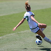 Cal Poly Women's Soccer played Boise State at Alex G. Spanos Stadium. 8/26/1811:28:31 AM <br /> <br /> Photo by Owen Main