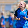 Cal Poly Women's Soccer played Boise State at Alex G. Spanos Stadium. 8/26/1810:54:28 AM <br /> <br /> Photo by Owen Main