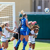 Cal Poly Women's Soccer played Boise State at Alex G. Spanos Stadium. 8/26/1812:30:02 PM <br /> <br /> Photo by Owen Main