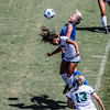 Cal Poly Women's Soccer played Boise State at Alex G. Spanos Stadium. 8/26/1812:08:11 PM <br /> <br /> Photo by Owen Main