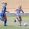 Cal Poly Women's Soccer played Boise State at Alex G. Spanos Stadium. 8/26/1811:10:21 AM <br /> <br /> Photo by Owen Main
