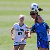 Cal Poly Women's Soccer played Boise State at Alex G. Spanos Stadium. 8/26/1811:26:56 AM <br /> <br /> Photo by Owen Main