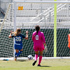 Cal Poly Women's Soccer played Boise State at Alex G. Spanos Stadium. 8/26/1811:23:54 AM <br /> <br /> Photo by Owen Main