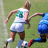 Cal Poly Women's Soccer played Boise State at Alex G. Spanos Stadium. 8/26/1811:31:33 AM <br /> <br /> Photo by Owen Main