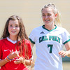 Cal Poly Women's Soccer played Boise State at Alex G. Spanos Stadium. 8/26/1810:56:46 AM <br /> <br /> Photo by Owen Main