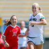 Cal Poly Women's Soccer played Boise State at Alex G. Spanos Stadium. 8/26/1810:56:31 AM <br /> <br /> Photo by Owen Main
