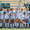 Cal Poly Women's Soccer played Boise State at Alex G. Spanos Stadium. 8/26/1810:56:20 AM <br /> <br /> Photo by Owen Main