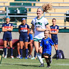 Cal Poly Women's Soccer hosted Cal State Fullerton at Alex G. Spanos Stadium in San Luis Obispo, CA. Photo by Owen Main 10/27/19
