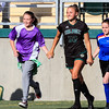 Cal Poly Women's Soccer hosted Washington at Alex G. Spanos Stadium. Photo by Owen Main 9/19/19