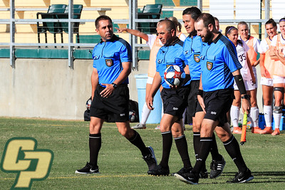 Cal Poly Women's Soccer hosted Washington at Alex G. Spanos Stadium. Photo by Owen Main 9/19/19