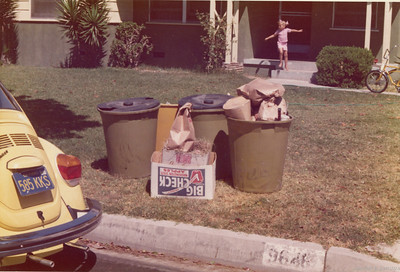 Single Pick up in the City of Downey during the early 70's