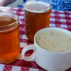 Beer and chowder
