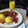 Room service breakfast