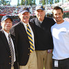 Joe Kapp and his son, Will, greeted Cal people on the sideline prior to the game.