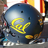 Cal helmets were adorn with stickers honoring Joe Roth and Ray Willsey.