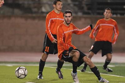 Cal High Soccer vs Monte Vista 2-7-12 Cal Selections