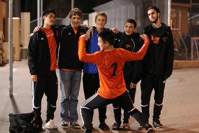 Foothill Soccer vs Cal 2-12-2012