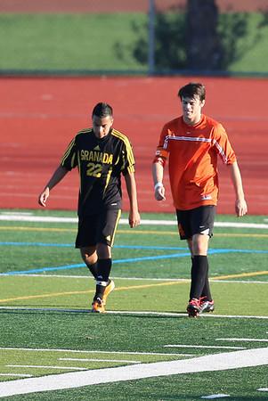 Granada Boys Soccer vs Cal 1-3-13
