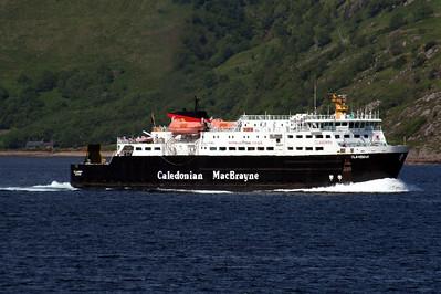 20100605 - 16 MV Clansman on the Sound of Mull heading for Oban - Img_2418