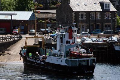 20100605 - 07 MV Eigg leaving the slipway at Oban 1400 to Lismore - Img_2326