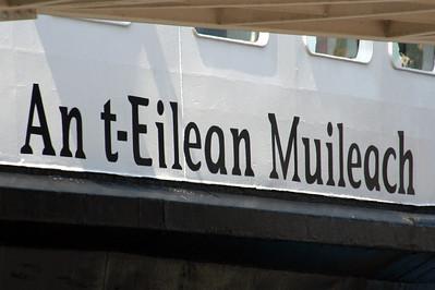 20100605 - 05 Gaelic name on MV Isle of Mull - Img_2312