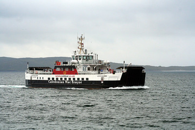 MV Loch Alainn on approach to Eriskay 10 July 2011